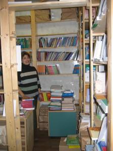 Buchlager des Verlages Terevinf